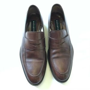 Fratelli Rossetti Loafers Shoes Mens 7.5 Brown WOW